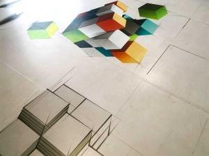 Decorazione pavimento