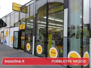Pubblicità negozi